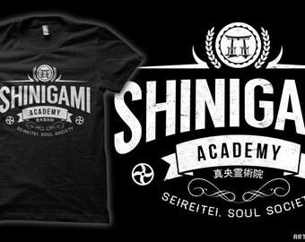 Shinigami Academy - Bleach Anime / Manga Ichigo Kurosaki T-Shirt