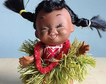 Hawaiian Souvenir Doll 1962