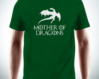 Mother Of Dragons T-Shirt Game of Thrones Daenerys Tee New