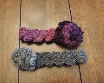 Ruffled Headband - Newborn to Adult Sizes