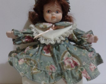 Vintage doll capodimonte