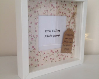 Friendship quote photo frame