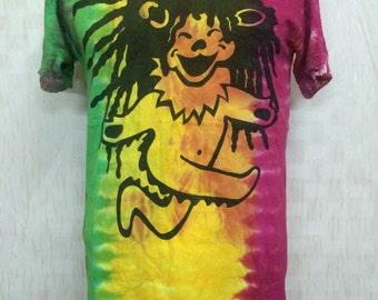 Vintage 80s Grateful Dead Rasta Tye DyeTshirt