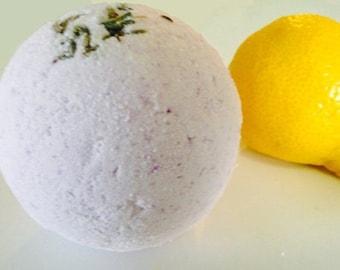 Bath Bomb Jasmine Lemongrass Fizzy Bath Bomb Moisturizing Bath Bomb