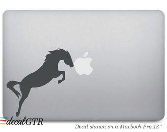 Horse Macbook Decal - Pony Macbook Sticker - Car Decal - Laptop Notebook Removable Vinyl Sticker Skin - G034