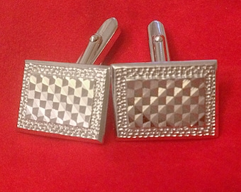 Collector's silver cufflinks