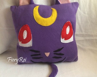 Sailor Moon Luna Plush Pillow Decorative Pillow