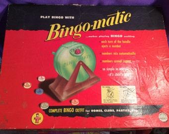 Bingomatic 1954-(Box included)