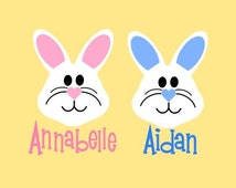 Adorable Bunny SVG, Studio 3, DXF, AI, ps and pdf Cutting Files for Electronic Cutting Machines