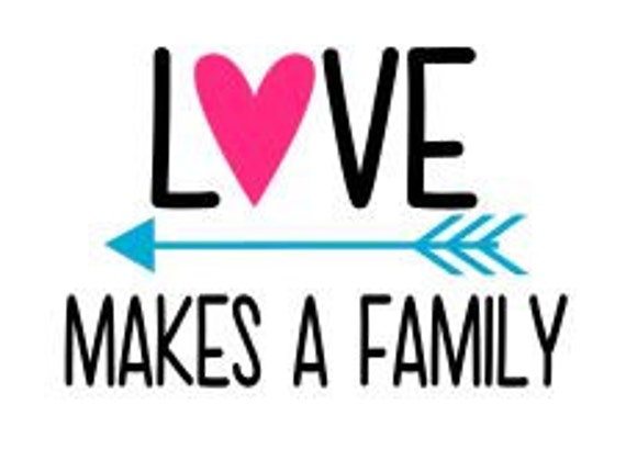 1151+ Love Makes A Family Svg Popular SVG File