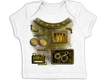 Rusty Robot Costume baby t-shirt
