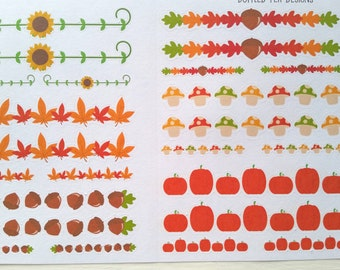 Fall Weekend and Day Banners (Set of 24) Item #064
