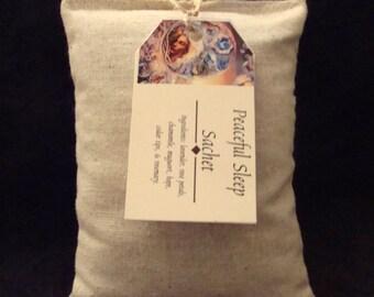 Peaceful Sleep Sachet, Sachet, Herb Pillow, Peaceful Sleep, Sleep, Sleep Sachet, Sachet, Scented Pillow, Herbal Pillow