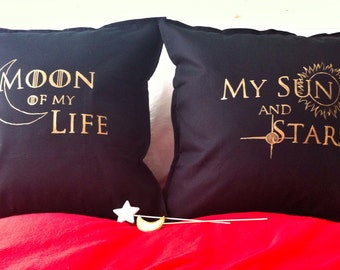 Game of thrones - 2 decorative pillow cases