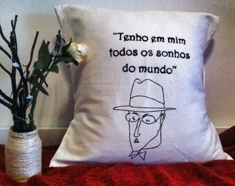 Fernando Pessoa pillowcase