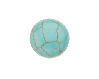 20pcs 12mm Round imitation turquoise cabochon