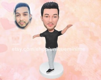 Personalized Doll - Boyfriend Gift - Husband Gift - Personalized Mens Gift For Him - Custom Bobblehead dolls
