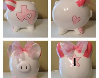 Deep in the Heart of Texas Piggy Bank