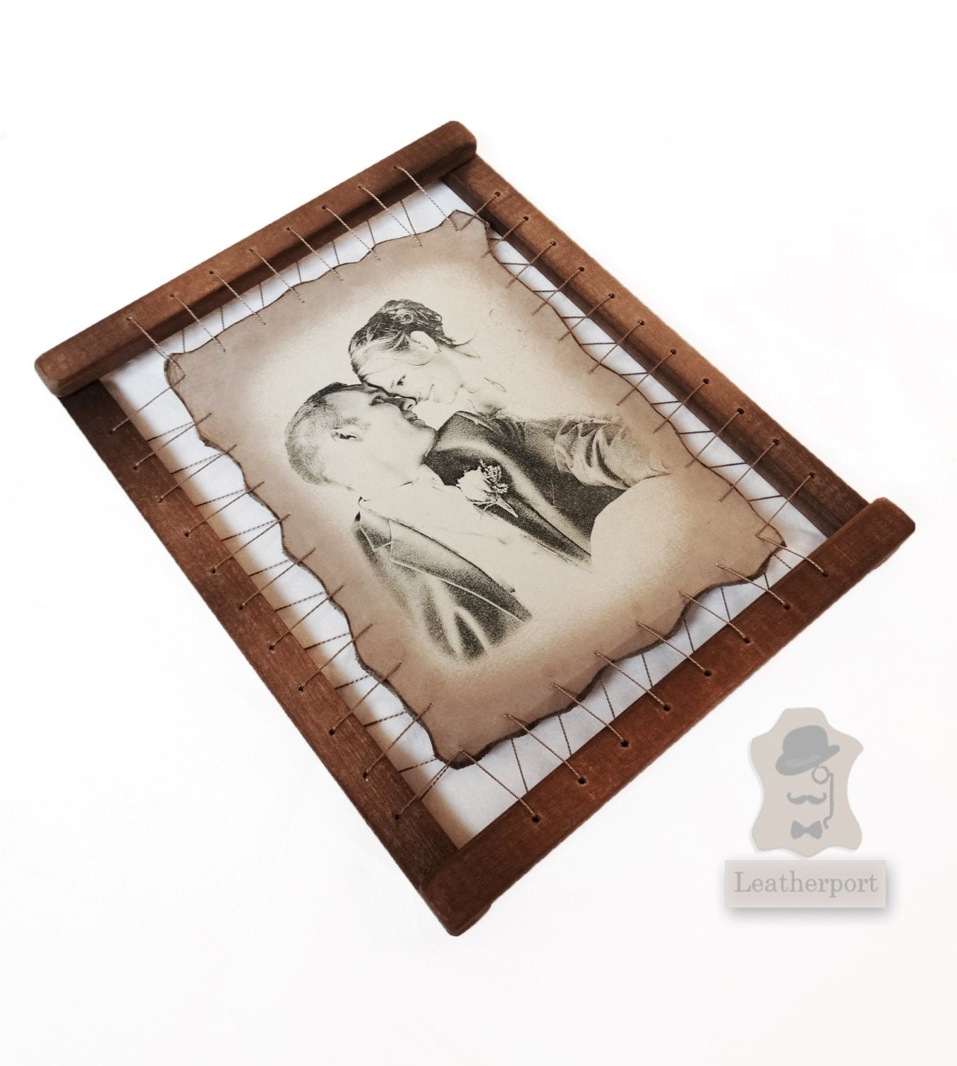6th Wedding Anniversary Gift Ideas For Husband : 6th Wedding Anniversary Gifts For Men Iron Marriage by Leatherport