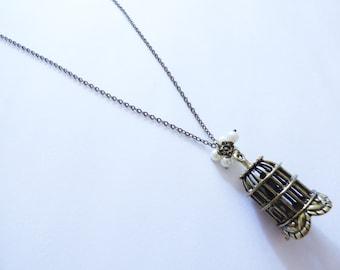 Birdcage Necklace CO061