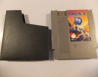The Adventures of Lolo 2 Original NES Nintendo Vintage Video Game Cartridge