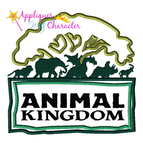 Disney inspired animal kingdom tree by appliqueswcharacter
