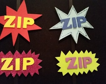 ZIP! action hair clips