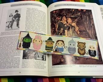 Cross Stitch Wizard Of Oz Bookmark