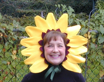 Sunflower Headband Pattern Tutorial. Sweet Easy Halloween costume diy - sewing