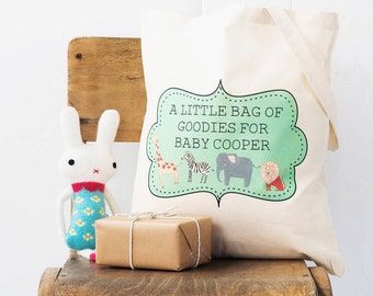 Baby Shower Gift Bag - Personalised Baby Shower Gift for Mother to Be, Ideal Hospital Bag for New Mom