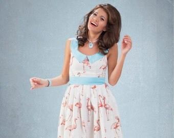 Flamingo dress By TiCCi Rockabilly Clothing 2015