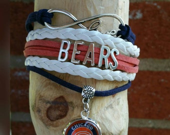 Chicago Bears love Bracelet