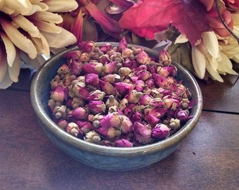 Pink Rosebuds, Conjure, pagan ritual supply, new age, wicca