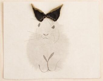 Angry Bunny with Ears