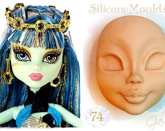 Face of Woman 74 ... Silicone Moulds