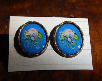 Vintage Garden Earrings