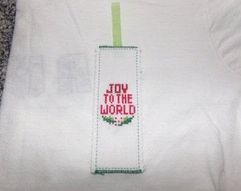 Christmas Cross Stitch Bookmark