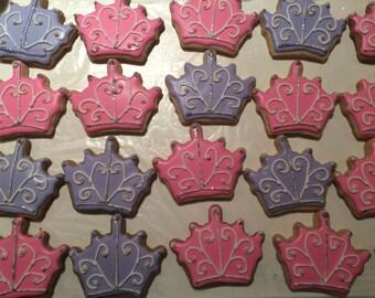 Princess Tiara Sugar Cookies