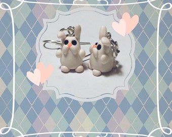 Bunny earrings - earrings bunnies