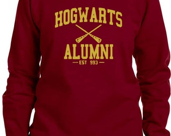 Hogwarts Alumni Harry Potter Inspired Sweatshirt