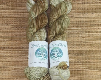 Hand dyed yarn - 50g Cashmere/Silk/Merino, DK weight (8 ply) in 'Mother of Pearl'