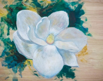 Painting on wooden panel (Large)