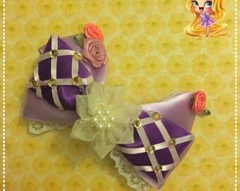 Rapunzel Themed bow