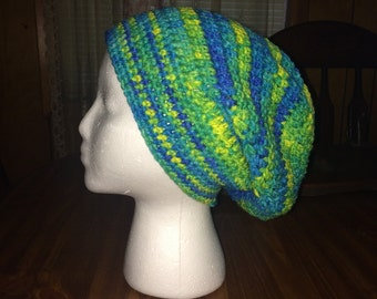 Womans Colorful Slouchy Hat