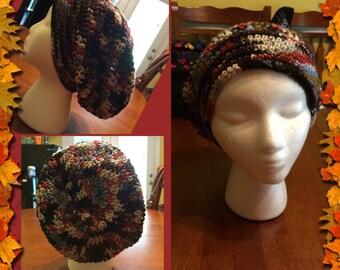 Woman's Crochet Slouchy Hat