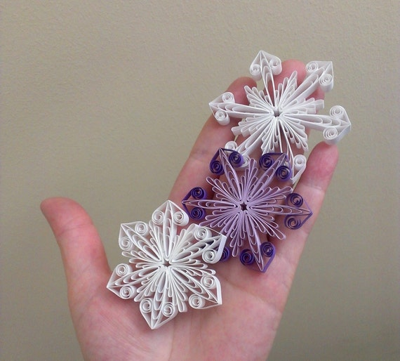 Quilling Tutorial Diy Snowflake Ornament By Quillings4u On
