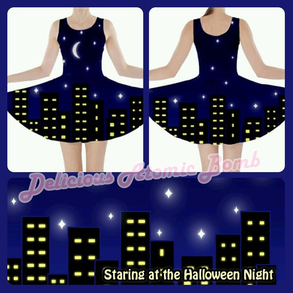 Staring at the Halloween Night Dress