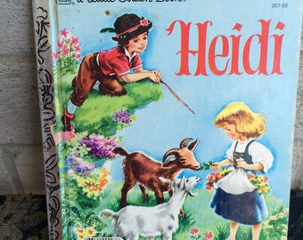 Heidi Little Golden Book