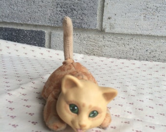 Vintage kitty Surprise baby, Kitty Surprise kitten, Vintage kitten Surprise
