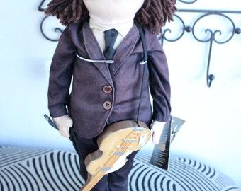 Vintage Beattles Standing Doll